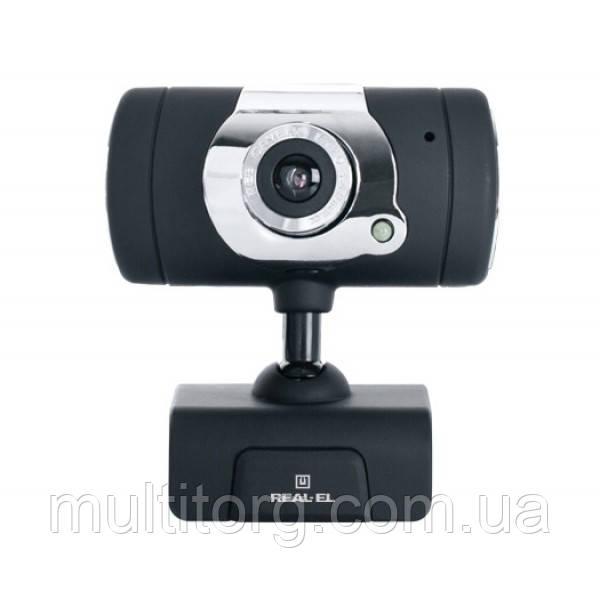 Веб-камера REAL-EL FC-225 с микрофоном