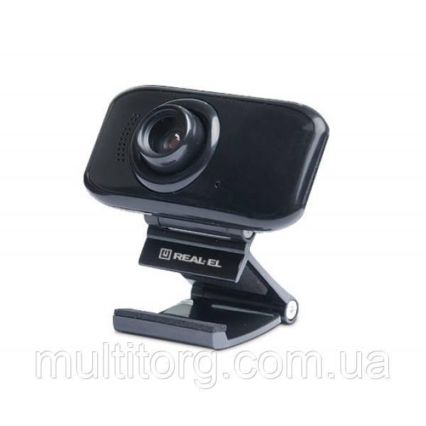 Веб-камера REAL-EL FC-250 с микрофоном