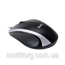 Мышка SVEN RX-180 USB черная (УЦЕНКА)