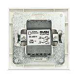 Выключатель SVEN SE-60019 промежуточный (переключатель) белый, фото 2
