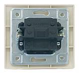 Выключатель SVEN SE-103 проходной  двухполюсный одинарный кремовый, фото 5