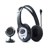 Веб-камера с гарнитурой SVEN ICH-7900 (УЦЕНКА)