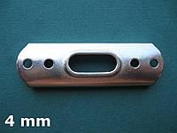 Нержавеющая площадка для мачтового Т-наконечника троса 4 мм