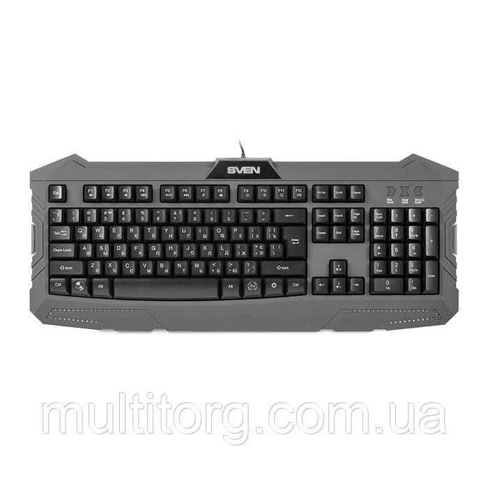 Клавіатура SVEN Challenge 9100 ігрова з підсвічуванням