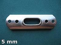 Нержавеющая площадка для мачтового Т-наконечника троса 5 мм