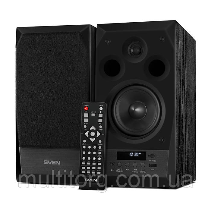 Колонки 2.0 SVEN MC-10 black Bluetooth