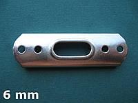Нержавеющая площадка для мачтового Т-наконечника троса 6 мм