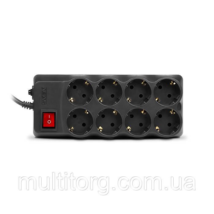 Фильтр-удлинитель SVEN Optima Pro 3,1 м черный