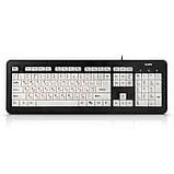 Клавиатура SVEN KB-C7300EL USB с подсветкой, фото 6