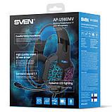Навушники SVEN AP-U980MV з мікрофоном 7.1 USB, фото 7