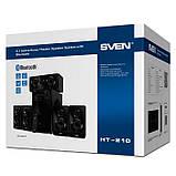 Колонки 5.1 SVEN HT-210 (125Вт) оптика, коаксіал, Bluetooth, годинник, ду, фото 2