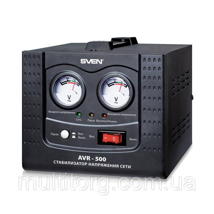 Стабілізатор напруги SVEN AVR-500 (УЦІНКА)