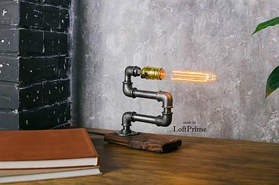 Светильник в стиле лофт зигзаг