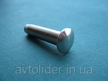 ESS нержавеющий наконечник для троса, полукруглая головка.