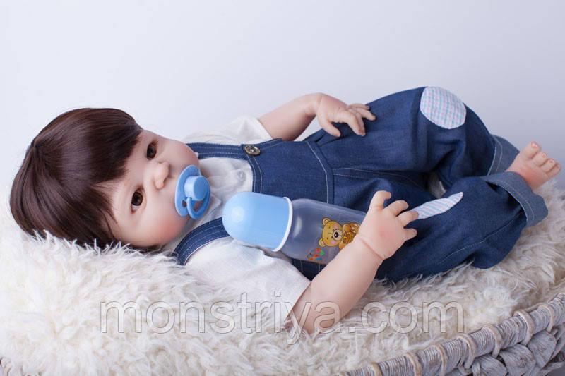 Кукла реборн мальчик полностью из винил-силикона / Кукла,пупс reborn