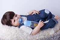 Кукла реборн мальчик полностью из винил-силикона / Кукла,пупс reborn, фото 1