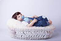Кукла-пупс реборн Малыш винил- силиконовый, фото 1