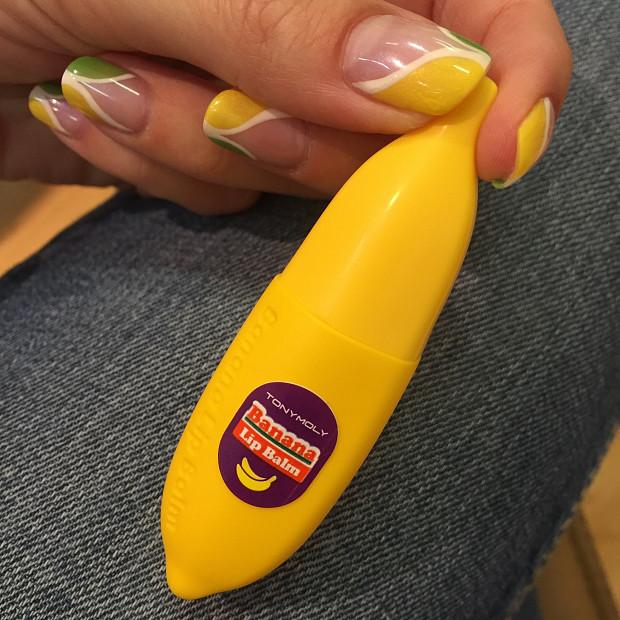 Банановый бальзам для губ Tony Moly Delight Dalcom Banana Pong Dang Lip Balm