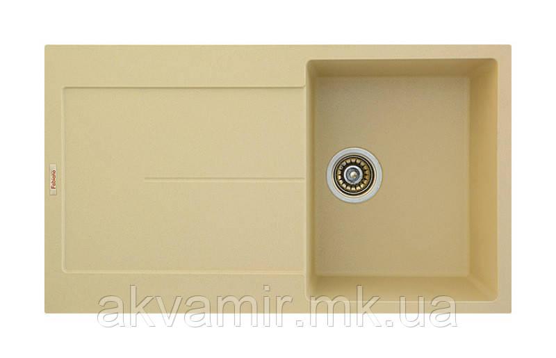 Мойка для кухни Fabiano Quadro 86x50 Cream (кремовый)