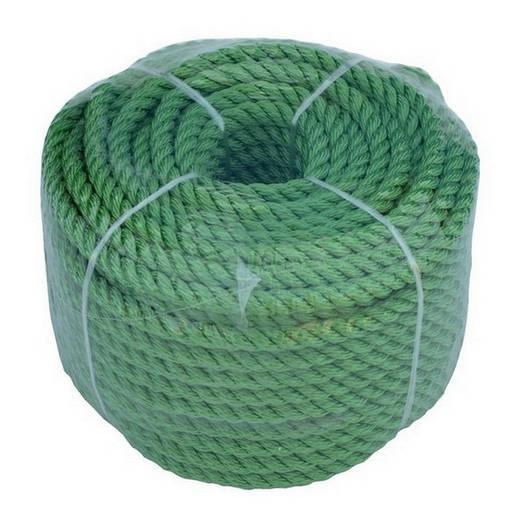 Якорная веревка 6мм/30м, Зеленая;