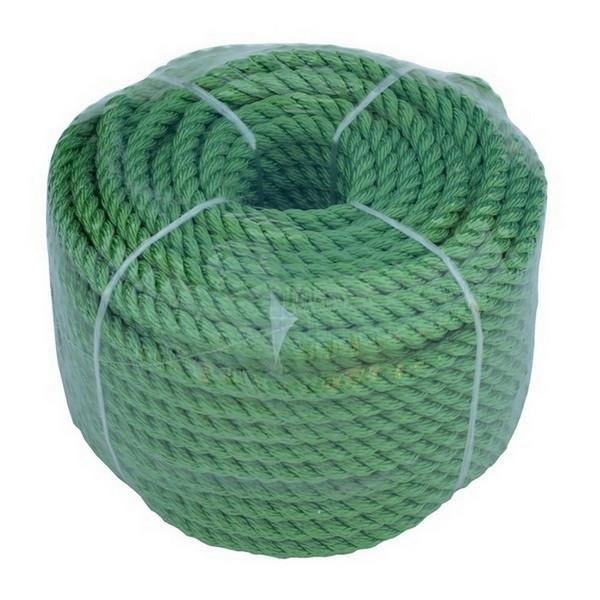 Якорная веревка 8мм/30м, Зеленая;