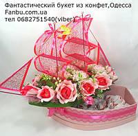 """Кораблик шкатулка с конфетным сюрпризом """"Круиз"""", фото 1"""