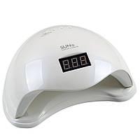 Світлодіодна лампа UV + LED для сушіння нігтів, гелю і гель-лаку SUN 5 48W з дисплеєм