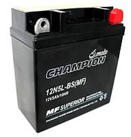 Мото аккумулятор Champion 5 Ah 12N5L-BS MF
