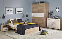 Ліжко двоспальне в спальню Польша Lima LOZ-160 160*200 Halmar