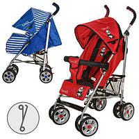 Детская прогулочная коляска-трость M 2106-2 BAMBI купить оптом и в розницу в Украине 7 км
