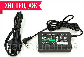 Блок живлення PSP 1000, 2000, 3000 Зарядний пристрій (Преміум)