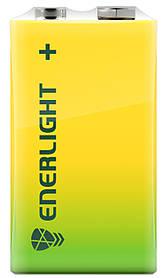 Сольова Батарейка ENERLIGHT 6F22 (крона) 9V SUPER POWER
