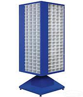 Поворотный шкаф с пластиковыми ящиками  MT-105