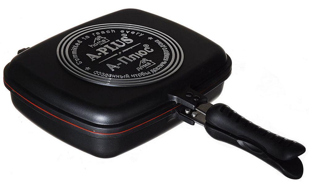 Сковорідка для гриля подвійна A-Plus Double Pan Fp-1500 (30 см)