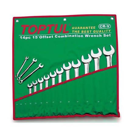 Набор ключей комбинированных 26 шт. 6-32, GAAA2604 TOPTUL, фото 2