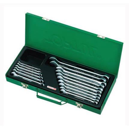 Набор ключей комбинированных 16 шт. 6-24мм (metal box), GAAD1602 TOPTUL, фото 2