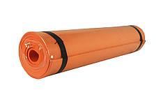 Коврик для йоги M 0380-3O (Оранжевый)
