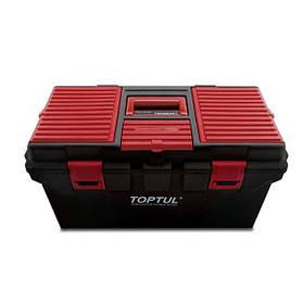 Ящик для инструмента 4 секции (пластик) 556 (L) x278 (W) x270 (H) mm, TBAE0401 TOPTUL