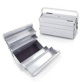 Ящик для инструмента 5 секций 470 (L) x220 (W) x350 (H) mm, TBAC0501 TOPTUL