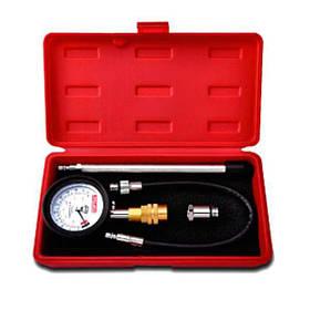Компрессометр бензиновый со сменными наконечниками, JGAI0402 TOPTUL