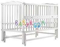 Кровать Babyroom Веселка маятник, откидной бок DVMO-2  бук белый, фото 1