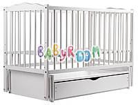Кровать Babyroom Веселка маятник, ящик DVMY-4  бук белый, фото 1