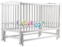 Кровать Babyroom Веселка маятник DVM-1  бук белый