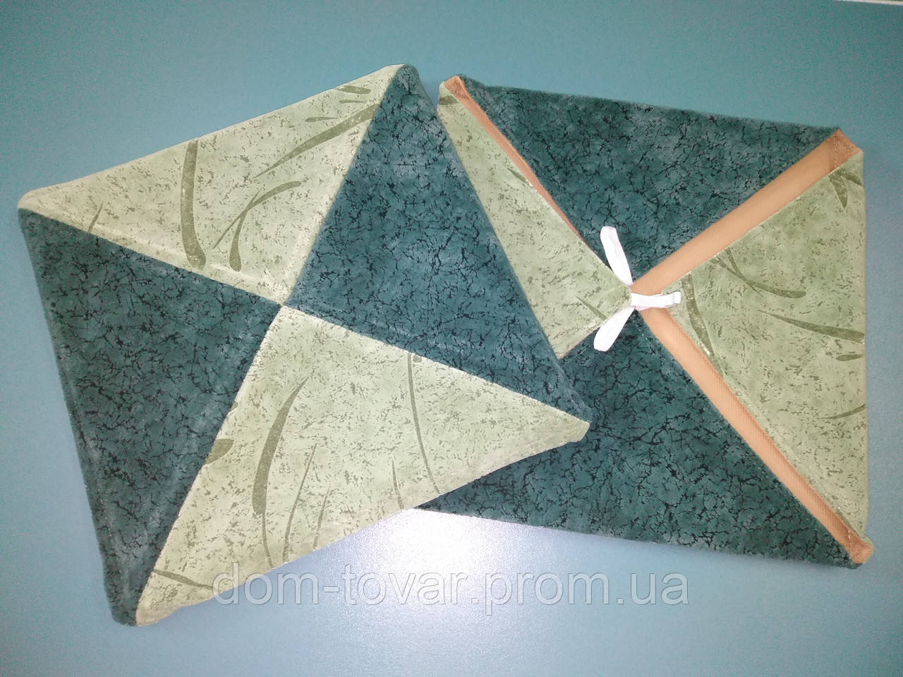 Чехлы на табуреты зеленый\салатовый