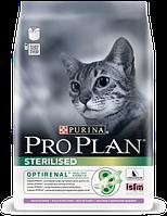 Сухой корм для стерилизованных котов Purina Pro Plan Sterilised Cat Turkey с индейкой 10 кг