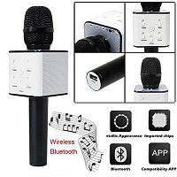 Караоке-мікрофон Q7 Black (USB/Bluetooth), фото 1