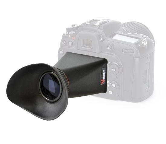 Видоискатель на ЖК-экран MegaGear DSLR для цифровых фотокамер Nikon D7100, D7200