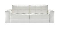 Кожаный прямой диван Калифорния
