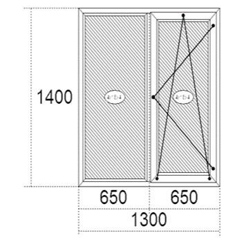 Металопластикові вікна Steko R-500