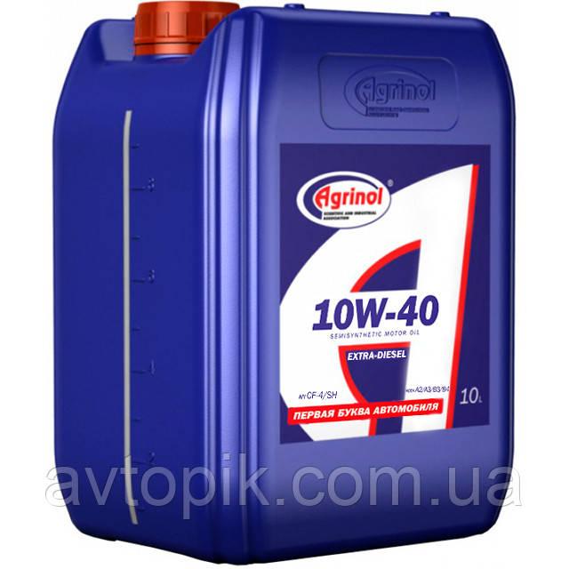 Моторное масло Agrinol Extra-Diesel CF-4/SH 10W-40 (10л.)